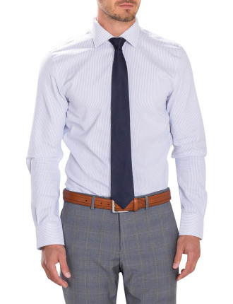 Modern Italian Broken Stripe Shirt