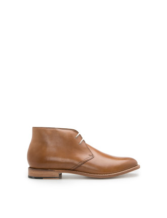 Andreas Leather Desert Boot