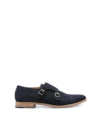 Oscar Suede Double Monk