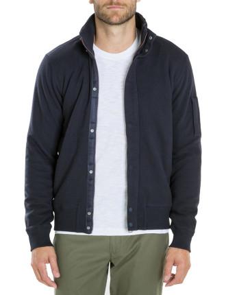 Sherpa Lined Sweat Jacket