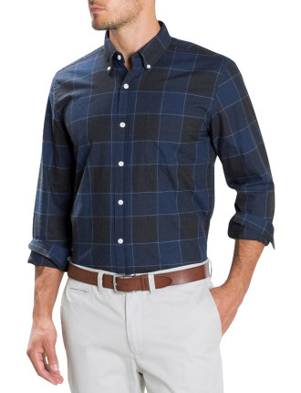 Tonal Buffalo Checked Shirt