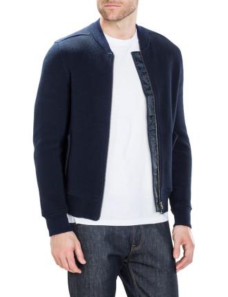 Double Knit Bomber Jacket