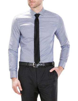 Modern Mini Check Oxford Shirt