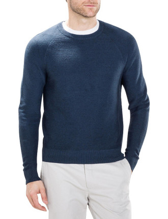 Luxe Textured Crew Knit