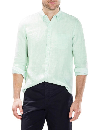 Classic Linen End On End Shirt