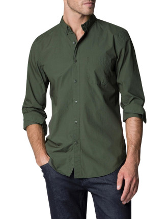 Cotton Slub Textured Shirt