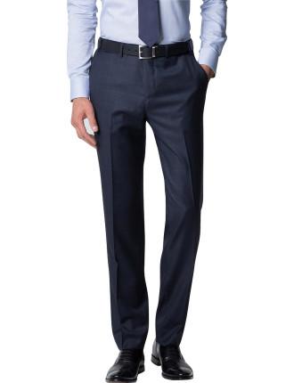 Wool Windowpane Trouser