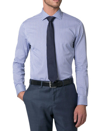 Cotton Twill Check Shirt