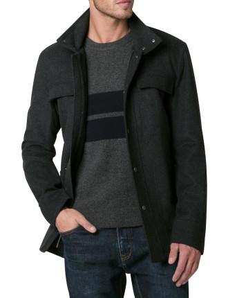 Wool Utility Coat