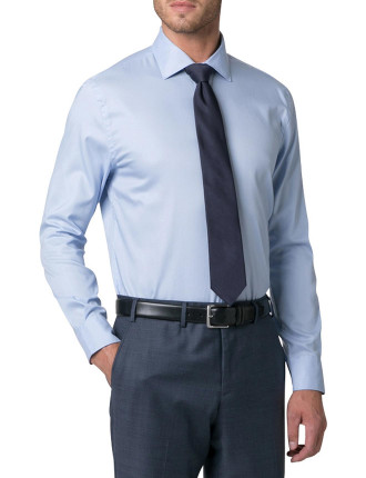 Cotton Basketweave Shirt