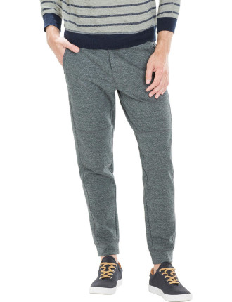 Modern Seamed Interlock Sweat Pant