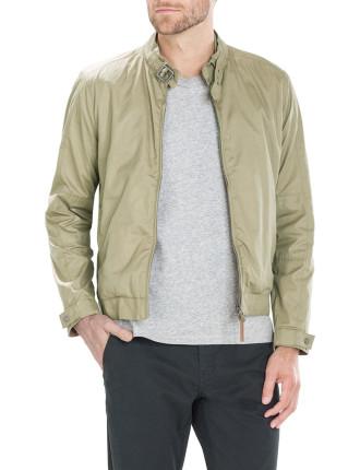 Technical Twill Harrington Jacket