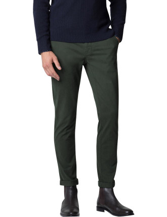 Stretch Cotton Modern Fit Washed Chino