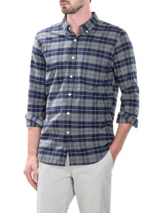 Bold Shadow Windowpane Shirt