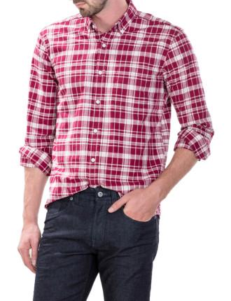 Bold Graphic Plaid Shirt