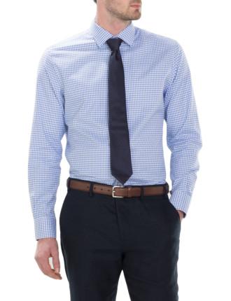 Classic Textured Gingham Shirt