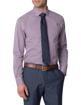 Cotton Shadow Gingham Classic Fit Shirt