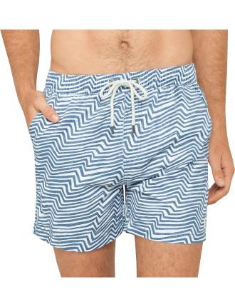 Ziggy Stripe Boardshort