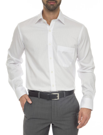 Billy Classic Fit - Pure Cotton Easy Iron Check Shirt