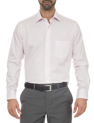 Anton City Tailored Fit - Cotton/Polyester Stripe Shirt