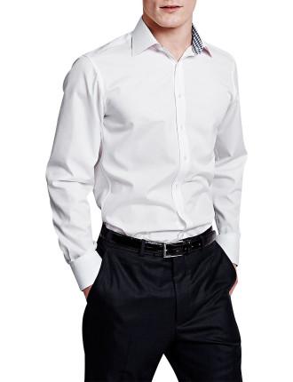 Slimfit Summers Plain Buttoncuff Shirt