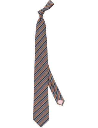 Slub Stripe Tie