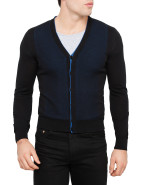 Birdseye Button Cardigan $315.00