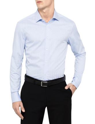 Long Sleeve Plain Single Cuff