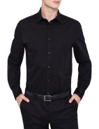 Stretch Plain Detach Shirt $299.00