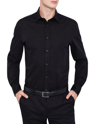 Stretch Plain Detach Shirt