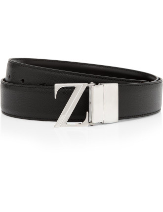 Zegna Leather Belt