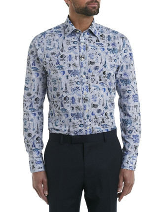 Insect Print Shirt