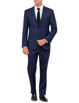 Wool Tonal Check Suit