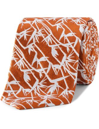 Silk Paradise Pattern Tie