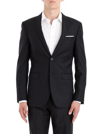 2b Sb Sv Fl Fr Wool Pin Spot Peak Suit
