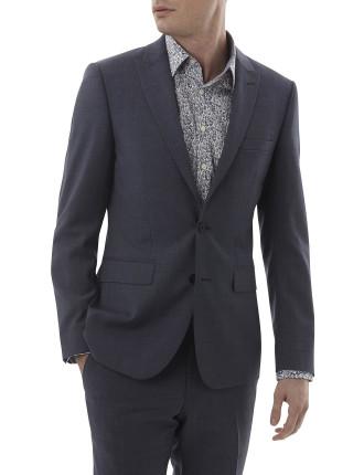 Wool/Pol Plainpeak Suit
