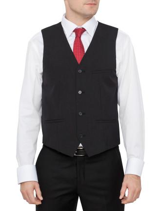 Nick Charcoal Suit Vest