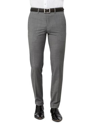 Wool/Pol/Lycra Plain Trouser