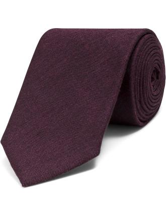Silk Melange Plain Tie