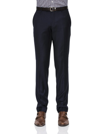 FL FR WOOL MICRO CHECK TROUSER