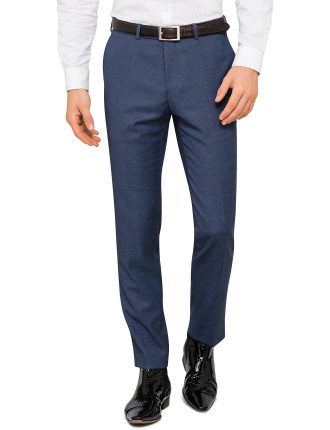 WOOL BIRDSEYE TROUSER