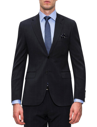 WOOL CANVAS PRINCE OF WALES SUIT