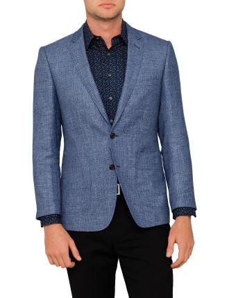 Textured Twil Half Lined Jacket