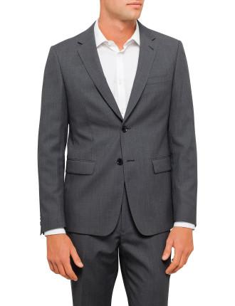 Textured Plain Travel Jacket