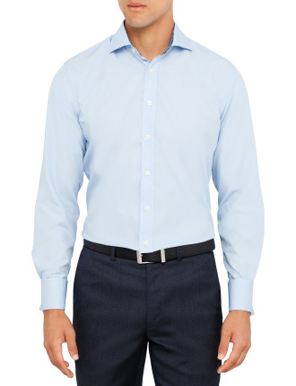 Contrast French Cuff Shirt