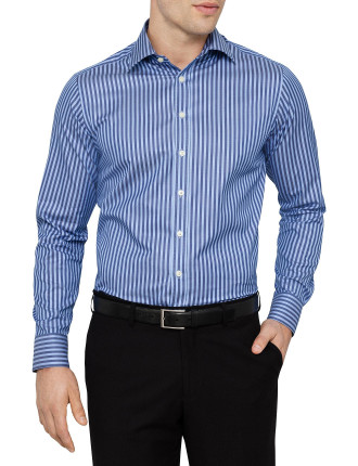 Cotton Twill Stripe Shirt