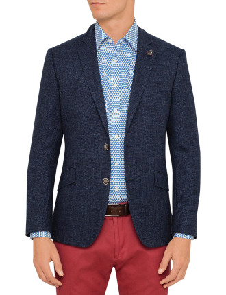 Simon Carter Textured Plain Jacket