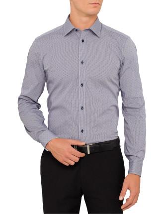 Cotton Dobby Neat Shirt