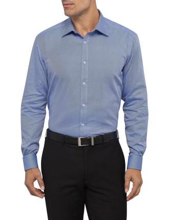 Cotton Contrast Twill Shirt