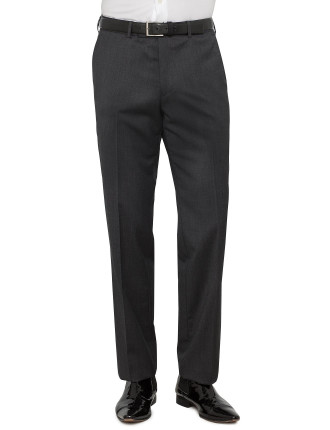 Plain Wool Trouser